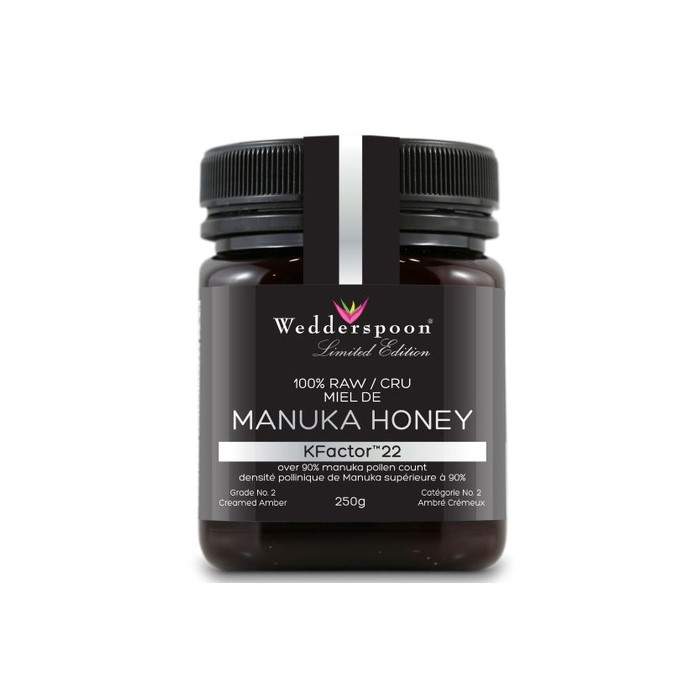 WEDDERSPOON MANUKA HONEY KFACTOR 22 - 250 GM