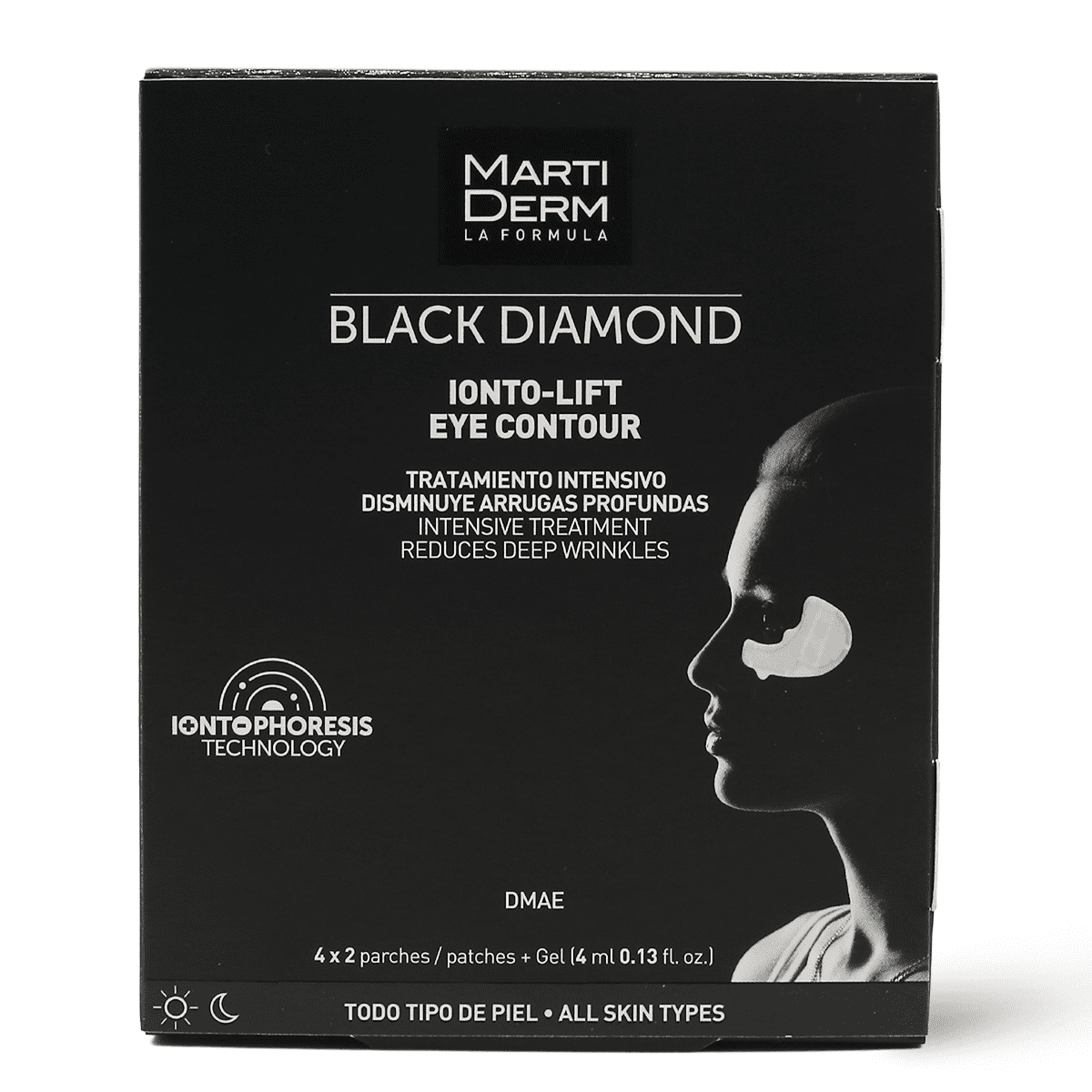 MARTIDERM BLACK DIAM. EYE CONTOUR 4 PCS