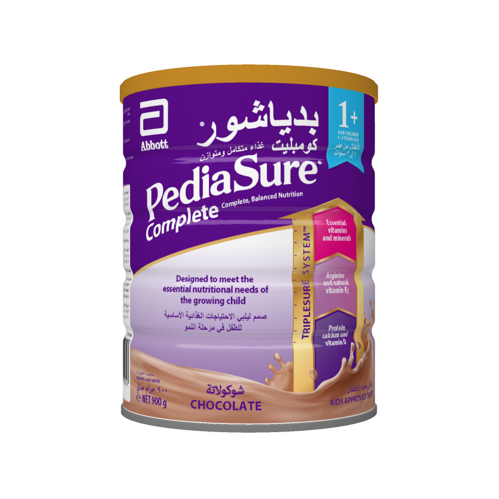 PEDIASURE CHOCOLATE COMPLETE 1+ 900GM