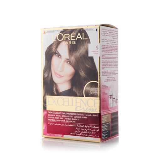 LOREAL EX CREAM 5 LIGHT BROWN