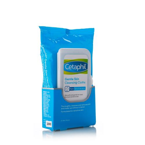 CETAPHIL GENTLE SKIN MAKEUP REMOVER WIPES