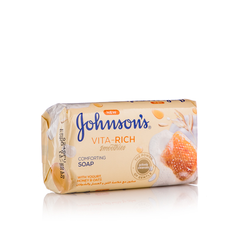 J&J BAR SOAP COMFORT 125GM