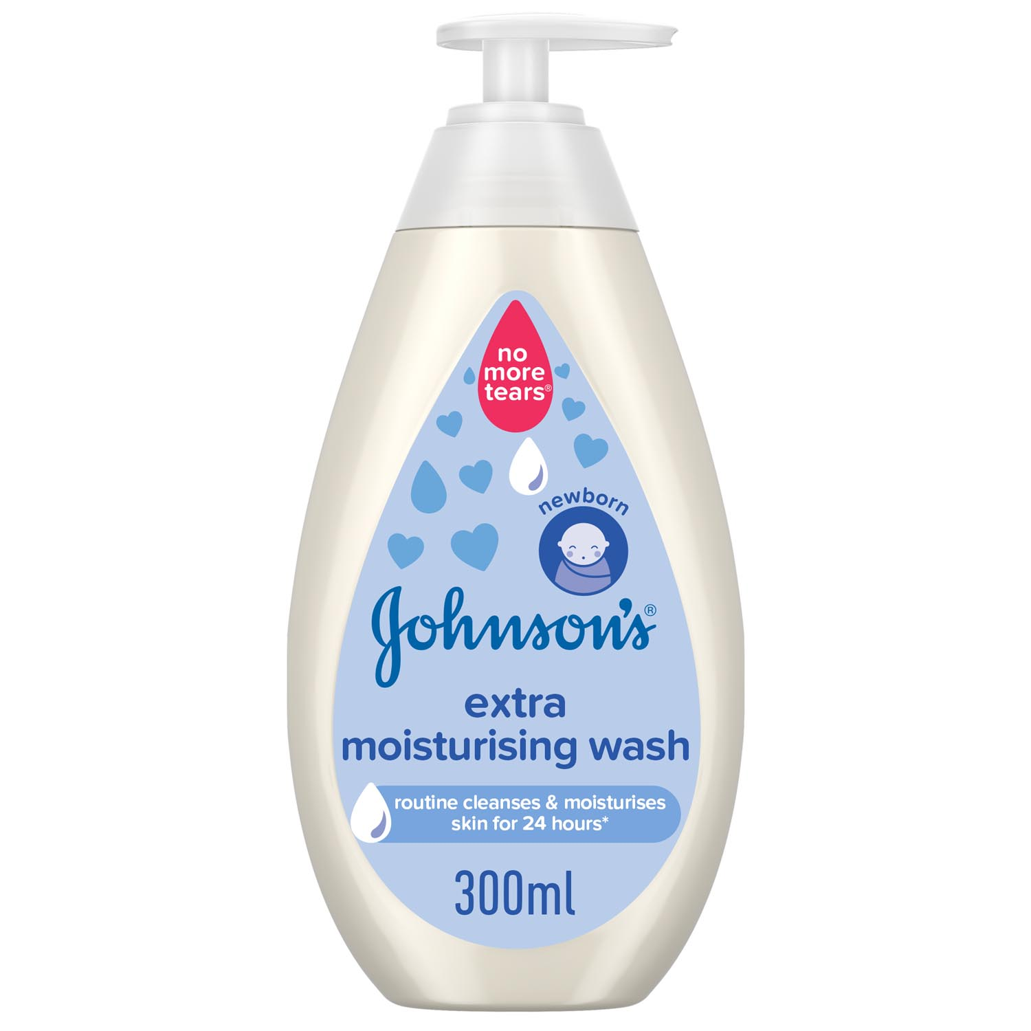 JOHNSON'S | WASH | EXTRA MOISTURISING WASH | 300ML