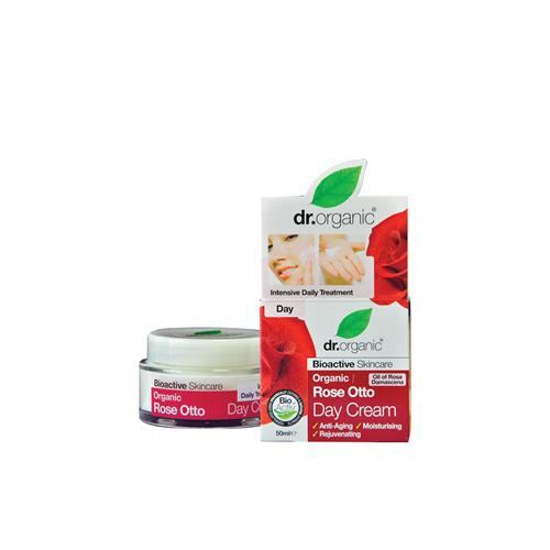 DR. ORGANIC ROSE OTTO DAY CREAM 50ML