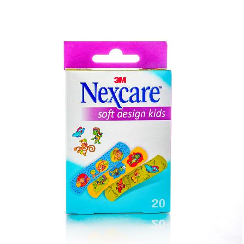 Nexcare Soft Design Kids 20 Pcs