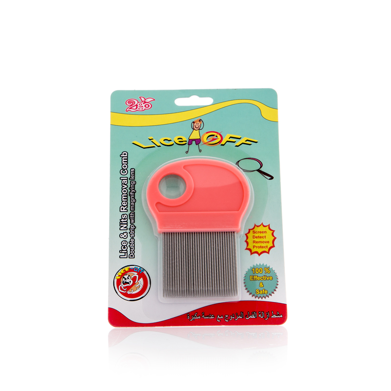 2GO ANTI LICE COMB MAGNIFIER DBL. STRIP