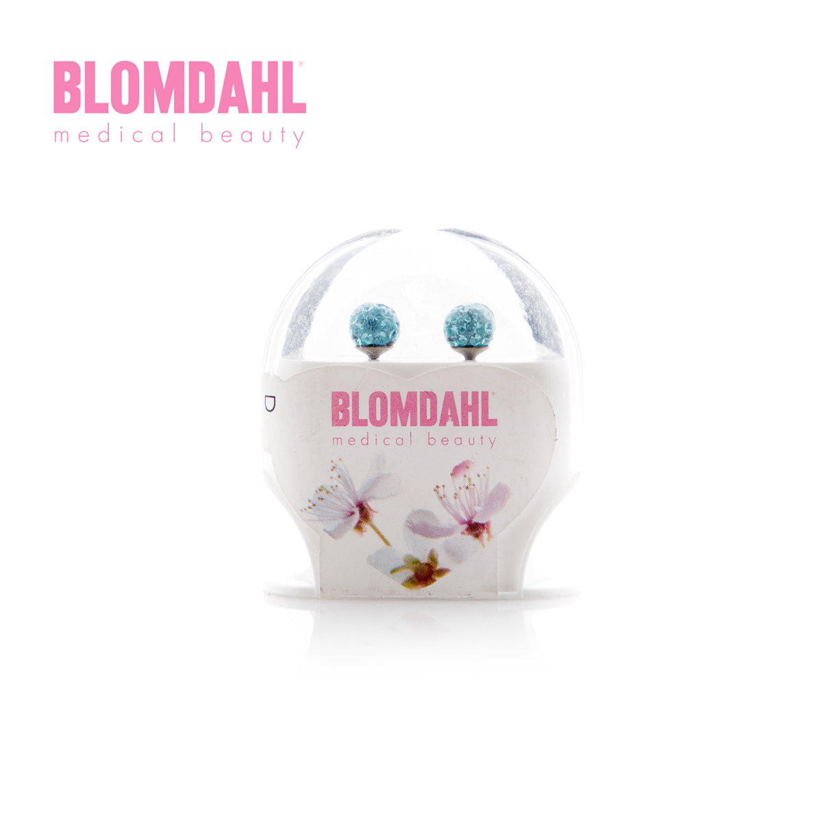 BLOMDAHL CRYSTAL BALL 6MM WHITE