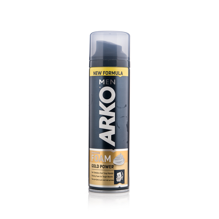 ARKO SHAVING FOAM GOLD 200ML