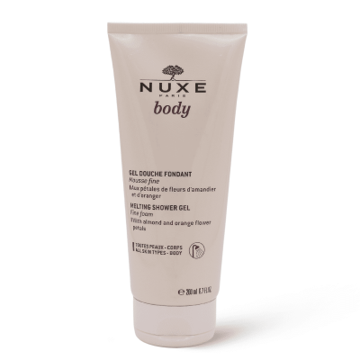 Nuxe Melting Shower Gel Soap Free For All Skin Types - 200 Ml